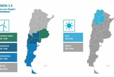 Mendoza logró adjudicar cuatro proyectos en el programa RenovAr