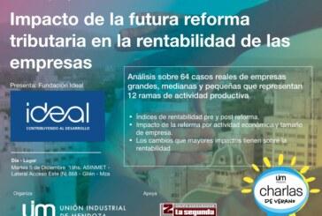 Charlas de Verano : Impacto de la Reforma Tributaria en la rentabilidad empresaria