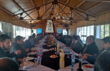 Encuentro del Gobernador de Salta, Juan Manuel Urtubey con empresarios mendocinos