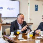 El titular de la UIA, Miguel Acevedo, fue recibido por la Unión Industrial de Mendoza