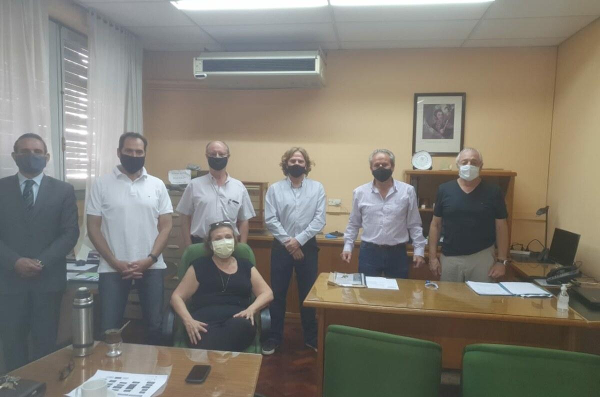 La UIM y la FEM se reunieron con el nuevo director de Minería, Ingeniero Roberto Zenobi.